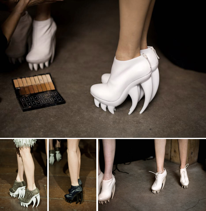 Iris Van Herpen Fang Shoes For Sale