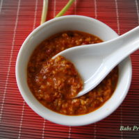 Asian Chili and Garlic Paste