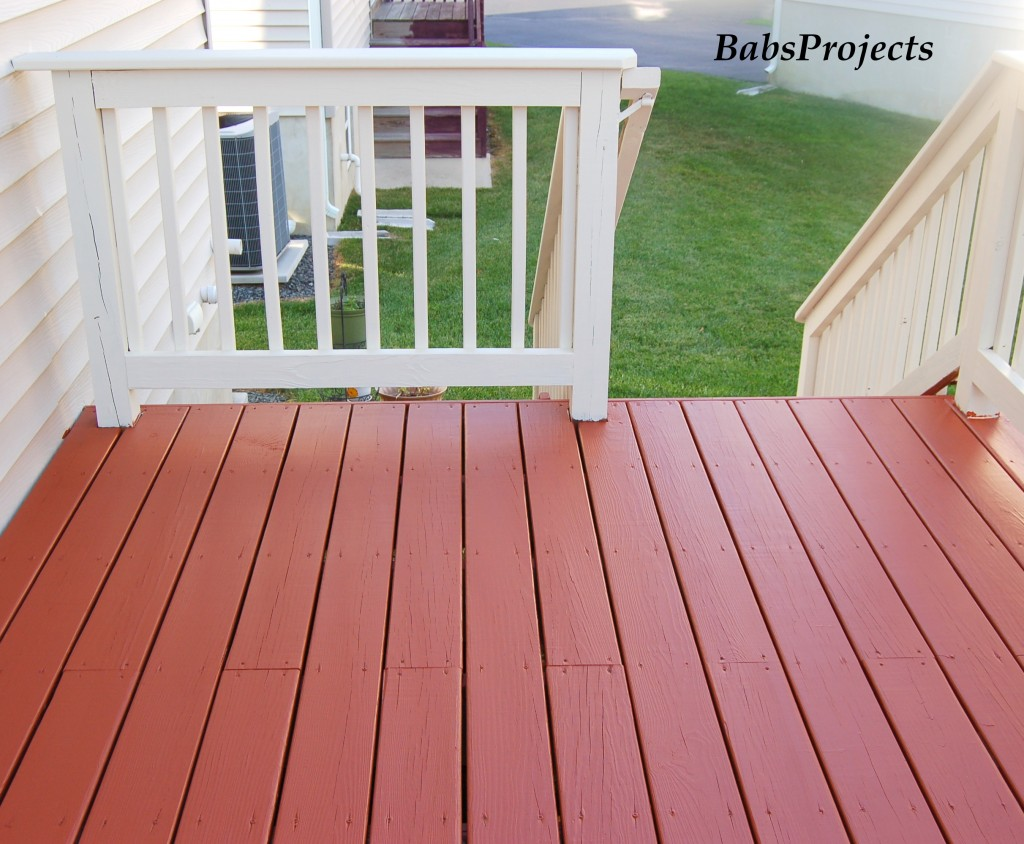 Deck Makeover - Part II - Babs Projects