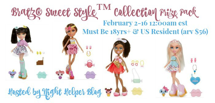 bratz sweet style prize pack