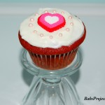 Red Velvet Cupcake with Vanilla Cream Cheese Frosting