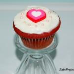 Red Velvet Cupcake with Vanilla Cream Cheese Frosting
