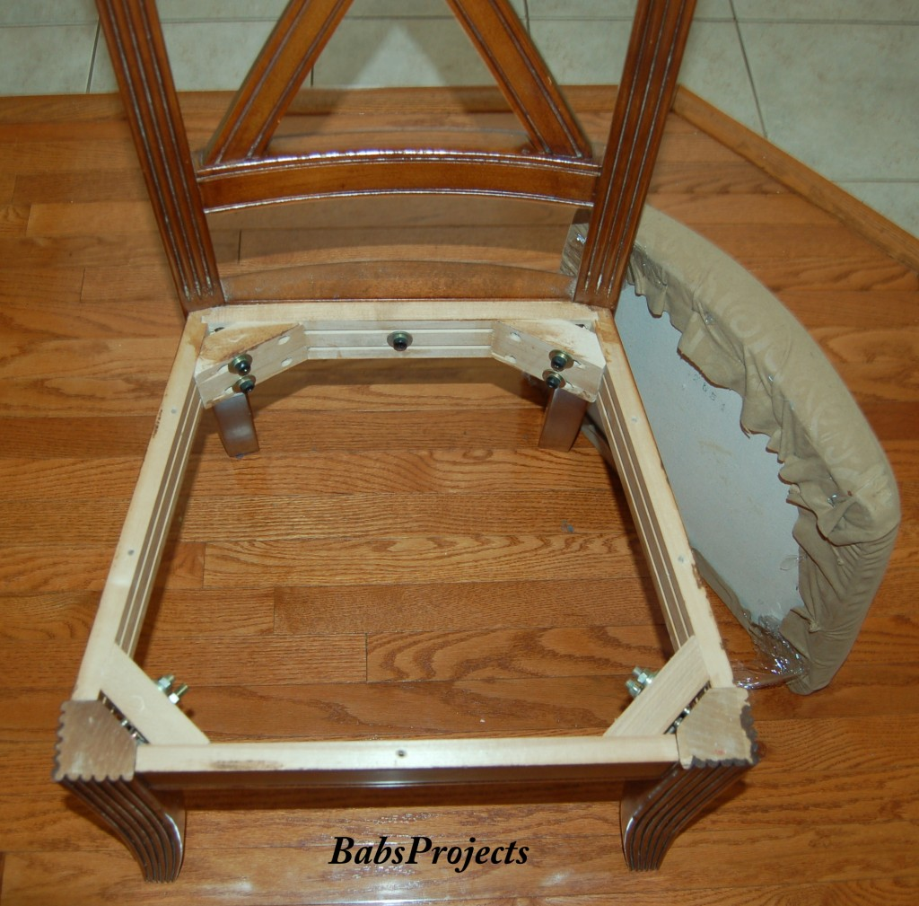 how to upholster dining room chairs - babs projects