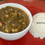 Collard Greens with Black Eyed Peas