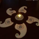 Readymade Diwali Rangoli