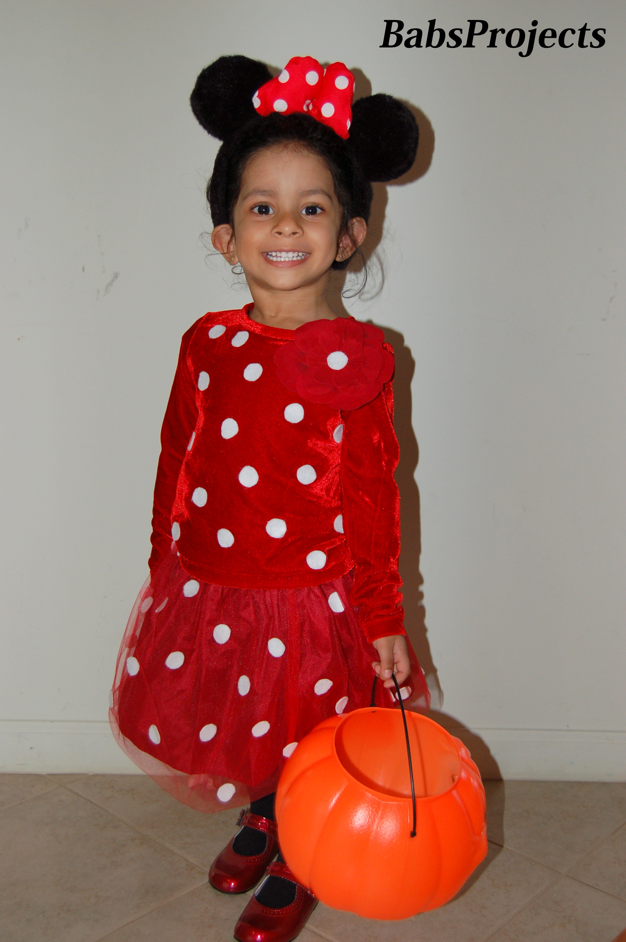 no sew minnie mouse halloween costume – babs projects