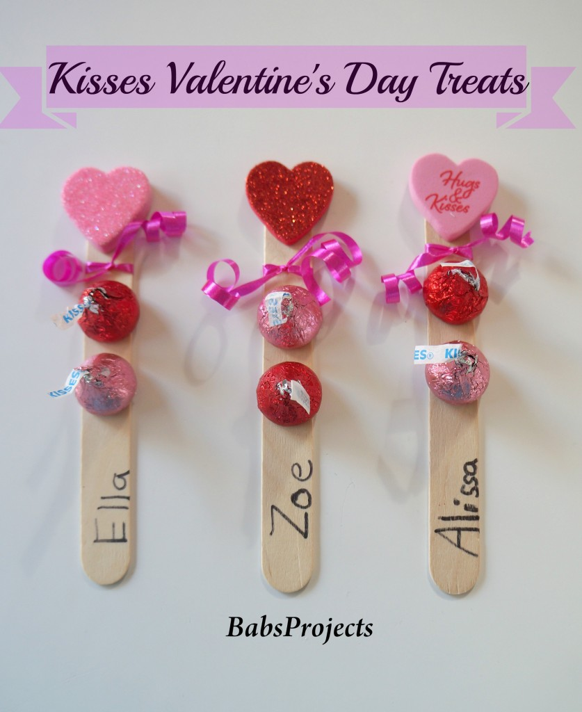 Hershey Kisses Valentineu0027s Day Treats Stick