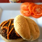 Low-Carb Black Bean and Chickpea Burger