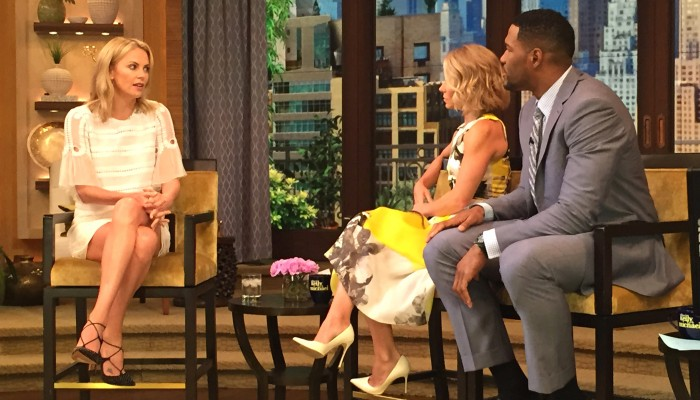 Had a Blast at Live with Kelly and Michael Show