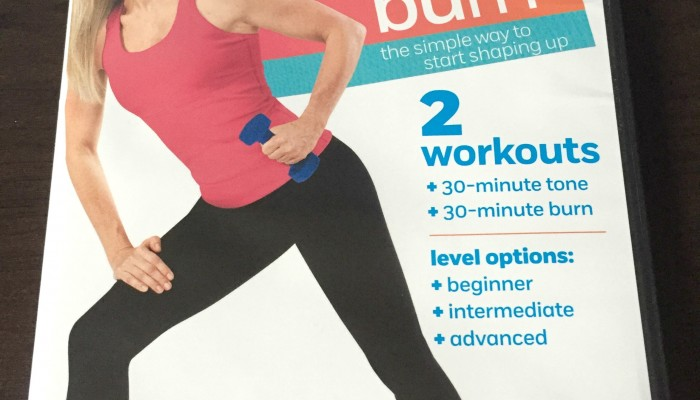 Weight Watchers 7 day Tone & Burn DVD reveiw