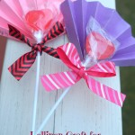 Lollipop Craft for Valentine's Day