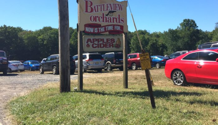 Pick Your Own Apples at Battleview Orchards in Freehold, NJ