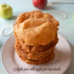 Apple Puri Made with Apple Pie Ingredients