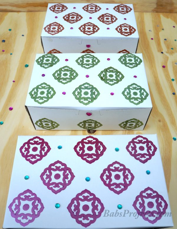 Decorate and Create Your Own Diwali Gift Boxes to Pack all the Sweet and Savory Snacks.