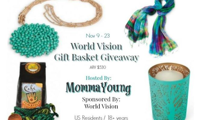 World Vision Gift Basket Giveaway