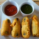 Coconut Stuffed Jalapeno Pakoda/Popper
