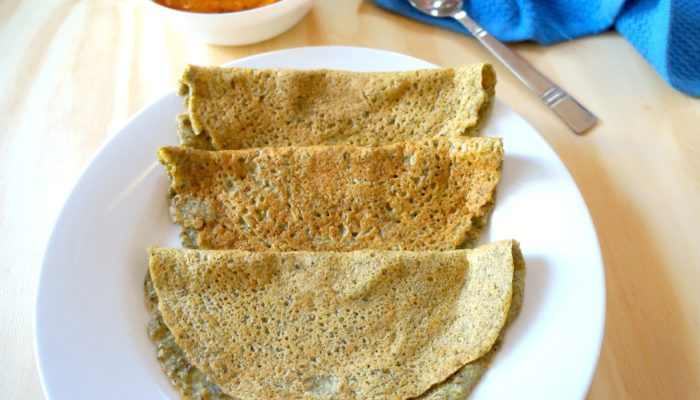 Easy to Make Healthy Whole Moong Dosa
