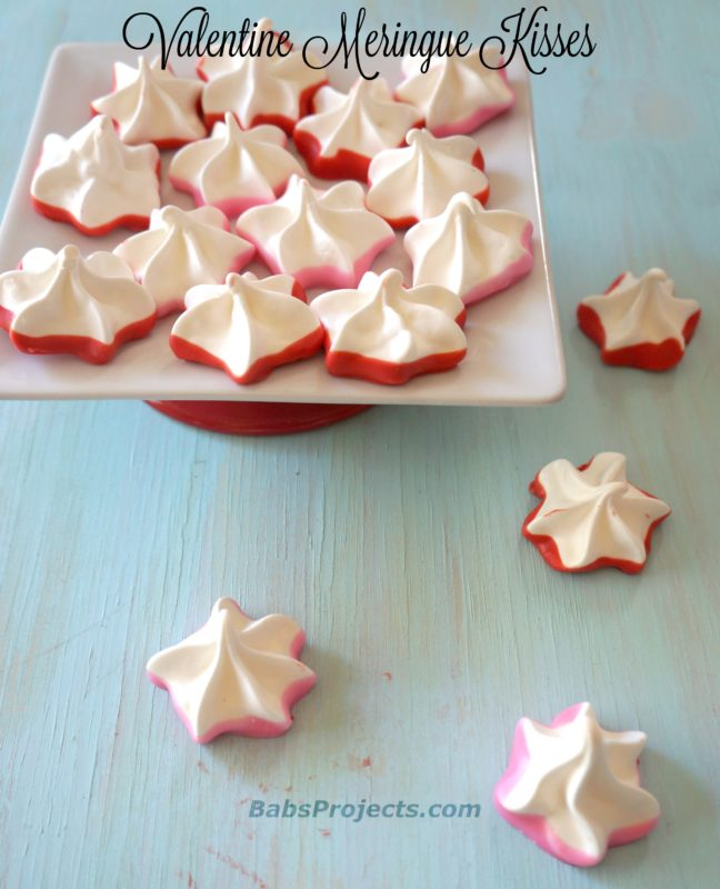 Easy to Make and Melt in Your Mouth Valentine Meringue Kisses