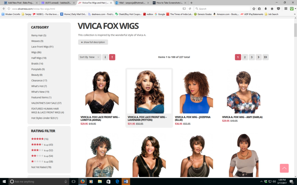 Vivica A. Fox Wigs Collection from Divatress
