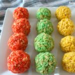 Rice Krispie Ladoo for Holi