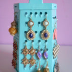 Grater Earring Holder | Cheese Grater Earring Stand – DIY